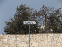 the way to lecce from torrechianca